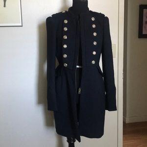 Zara Military style coat